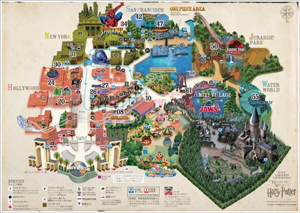 USJ MAP